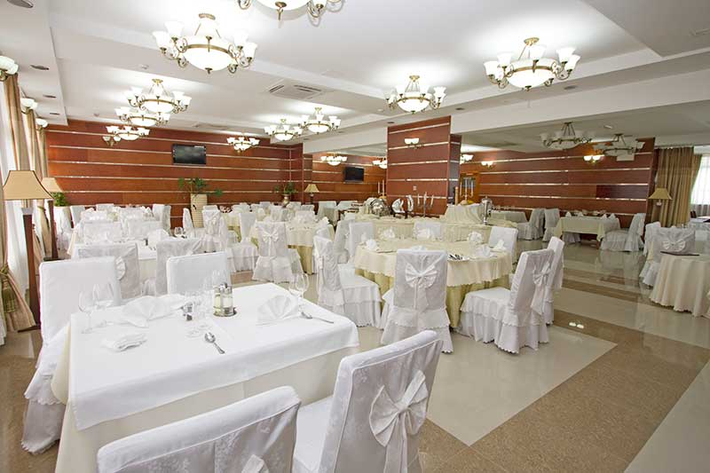 Hotel Park Exclusive Otočac. - hall for wedding celebrations