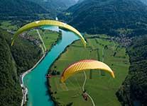 paragliding-smjestaj u hotelu park exclusive otocac